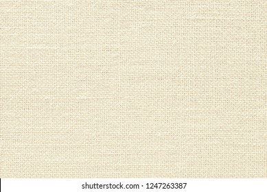 Light yellow canvas fabric for background, linen texture