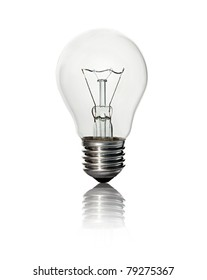 lightbulb isolated on white background