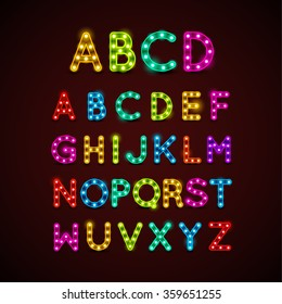 Lightbulb Letters