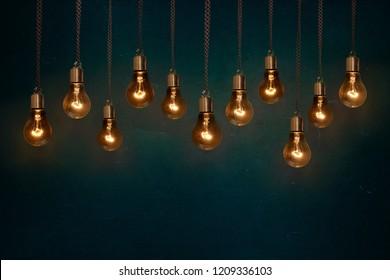 lightbulb retro light edison idea invention technology