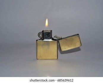 Lighter on white background