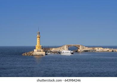 The Lighthouse of Alexandria.