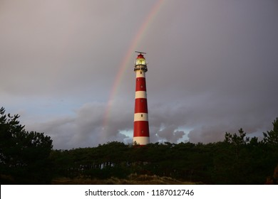 Lighthouse. Ameland, Dutch.