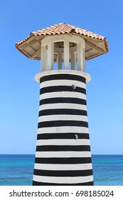 Lighthouse at Bayahibe beach, Dominican Republic