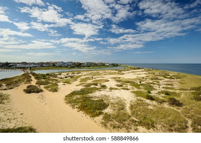 Lighthouse Beach in Edgartown, Martha's Vineyard, New England, Massachusetts, USA