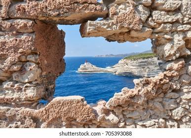 The Lighthouse of Bonifacio, Corsica