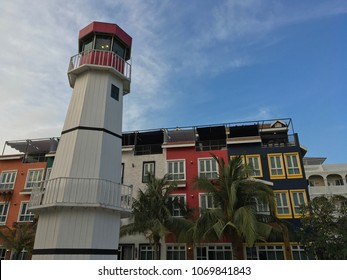 The lighthouse and boutique hotel