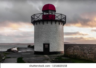 The Lighthouse at Burry Port, Carmarthenshire.