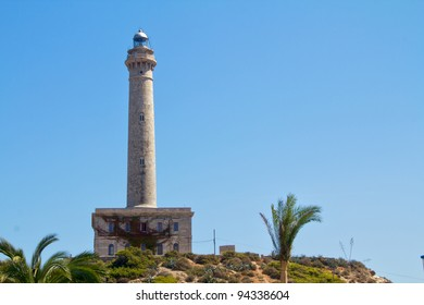 lighthouse in (Cabo de Palos spain)