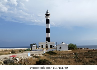 Lighthouse in Cap d'Artrutx, Menorca, Spain