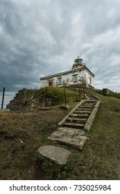 Lighthouse of cape Baluzek