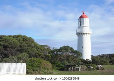 Lighthouse at Cape Schanck in Victoria Australia