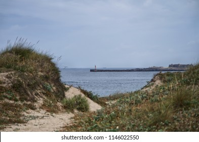 Lighthouse and castle at Vila do Conde