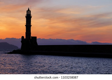 lighthouse of Chania