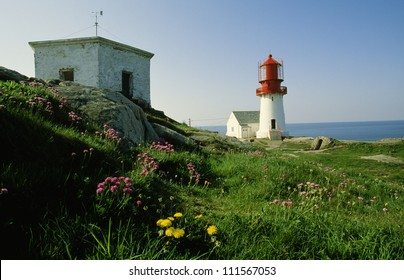 Lighthouse at a cliff