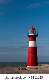 Lighthouse Close to the Sea