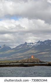 Lighthouse at Djupivogur, Iceland