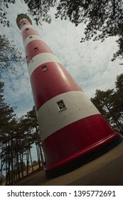Lighthouse at the Dutch Island of Ameland