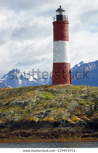 Lighthouse at the end of the world, Beagle Channel, Ushuaia, Argentina