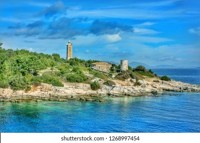Lighthouse at Fiscardo