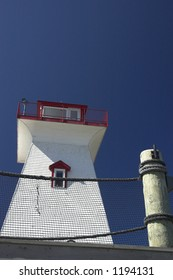 Lighthouse in Fredericton, Canada