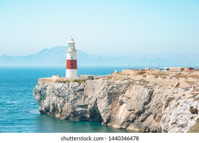 Lighthouse of Gibraltar in Spain / England - Point of Europe