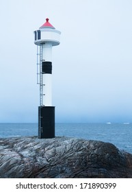 Lighthouse in grey weather