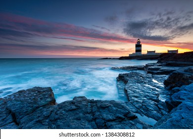 Lighthouse at Hook Head, County Wexford, Ireland Lighthouse at Hook Head, County Wexford, Ireland