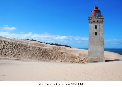 Lighthouse of hvide sande