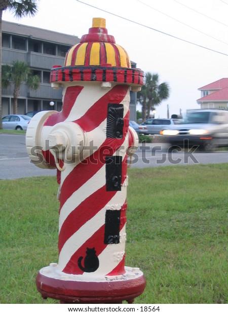Lighthouse hydrant