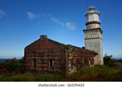 Lighthouse in an Island