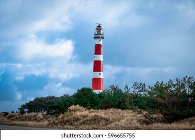 lighthouse in the island