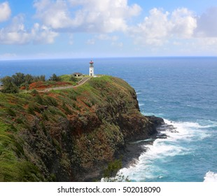 The lighthouse of the KAUAI, Hawaii
