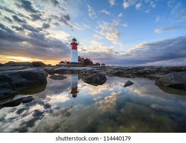 A lighthouse in Kvarken