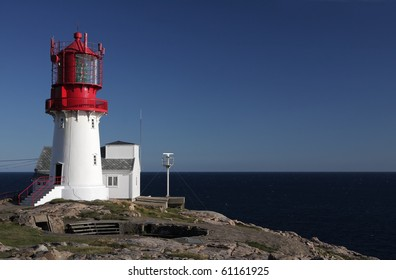lighthouse Lindesnes, Norway, Europe