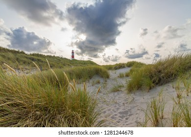 Lighthouse List East in dunes, Sylt