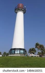 Lighthouse in Long Beach, California