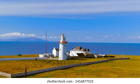 The lighthouse at Loop Head on the Irish west coast - travel photography