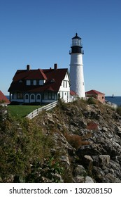Lighthouse of Maine, USA