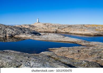 A lighthouse, Marstrand, Bohuslän, Sweden