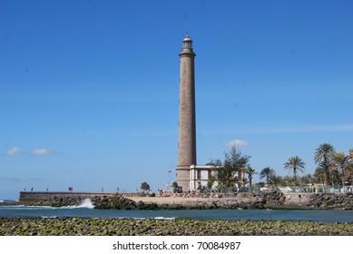 Lighthouse At Maspalomas