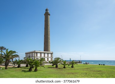 Lighthouse in Maspalomas, Gran Canaria, Canary Islands, Spain