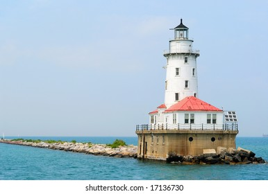 Lighthouse at Navy Pier in Chicago