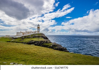 Lighthouse at Neist Point, Isle of Skye, Scotland