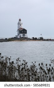 Lighthouse in the Netherlands.