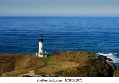 Lighthouse in Newport, Oregon