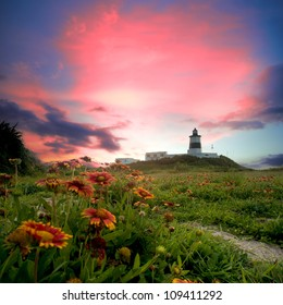 Lighthouse with nice view for adv or others purpose use