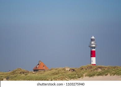 Lighthouse in Nieuwpoort, Belgium
