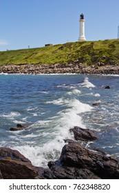 Lighthouse at Nigg Bay, Aberdeen, Scotland