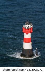 Lighthouse in North Sea near Bremen